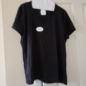 NWT Black Hanes T-Shirt XL